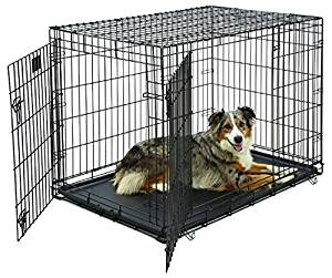 MidWest Stages Folding Metal Dog Cage