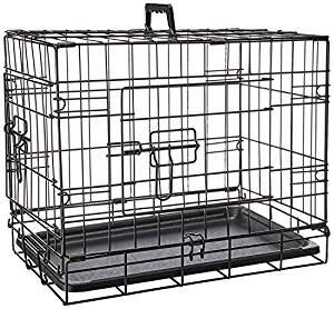 Oxgord folding metal dog crate
