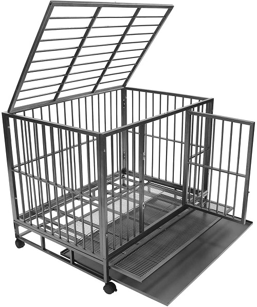 Smith Built Heavy Duty Dog Crate Side